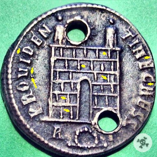 Costantino II Torre di guardia 236d.C. (Roma)