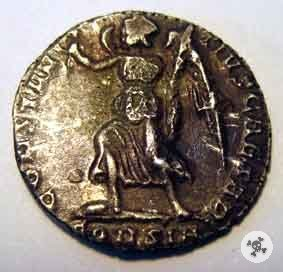 Costanzo II AR Miliarensis 337-361d.C. (?)