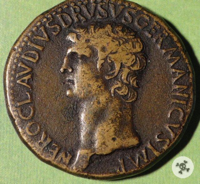 Nero Claudio Druso sesterzio 41-50d.C. (Roma)
