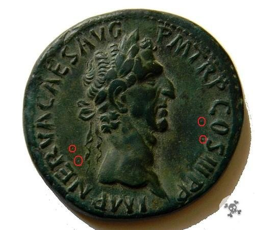 Nerva sesterzio FORTVNA 97d.C. (Roma)