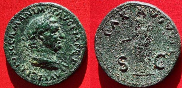 Vitellio sesterzio 69d.C. (Roma)