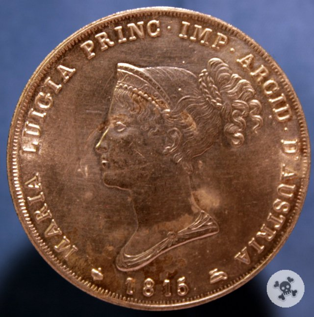 5 lire 1815 - Maria Luigia - Ducato di Parma 1815
